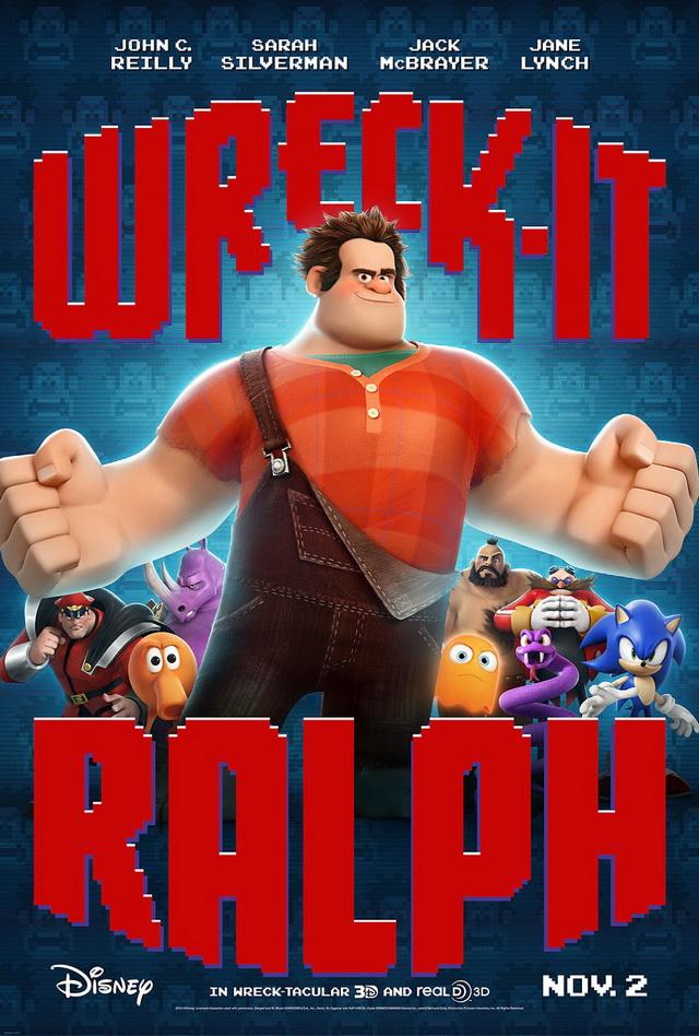 ตัวอย่างหนังใหม่ : Wreck-It Ralph (ราล์ฟ วายร้ายหัวใจฮีโร่) ตัวอย่างที่ 2 ซับไทย new poster