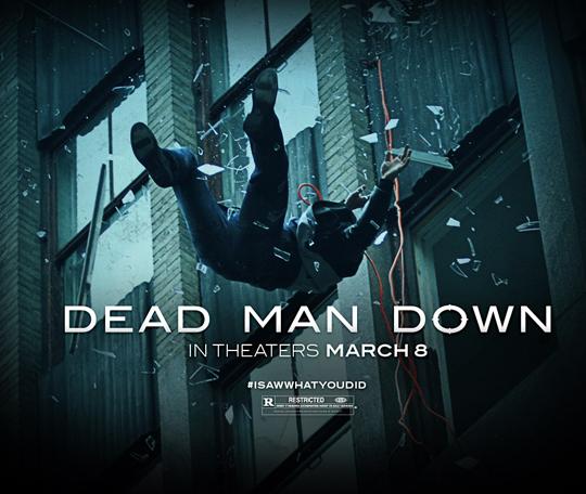 ตัวอย่างหนังใหม่ :  Dead Man Down  ซับไทย (แค้นได้ตายไม่เป็น) poster